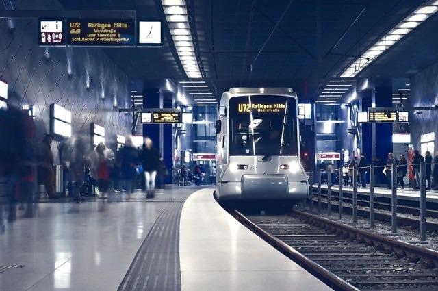 Het openbaar vervoer in Düsseldorf