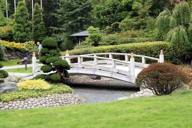 De tuin van het EKŌ-Haus