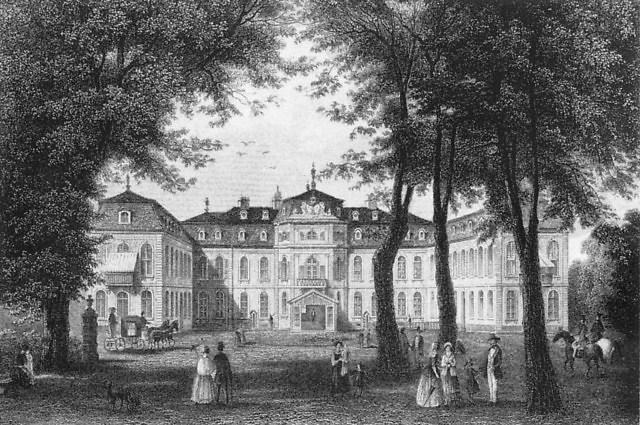 Schloss Jägerhof in 1860