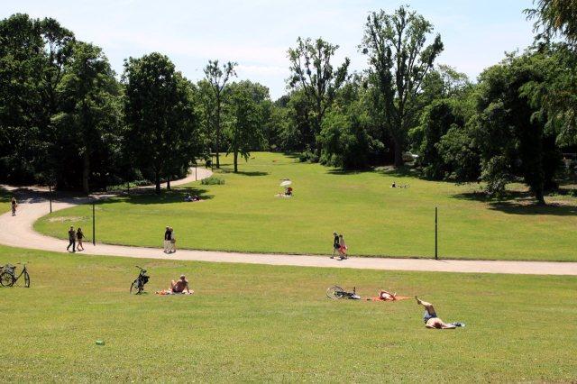 De Hofgarten van Düsseldorf
