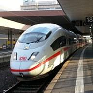 Met de trein naar Düsseldorf