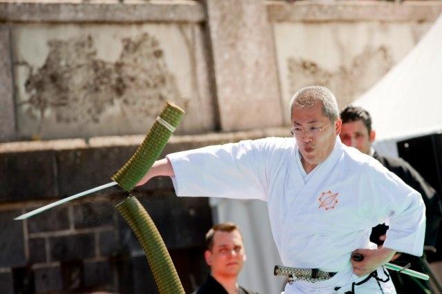Kijk uit voor Japanners met zwaarden