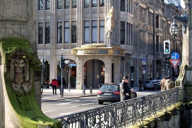 Winkelen in de Königsallee